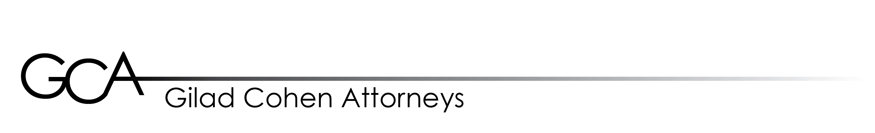 Gilad Cohen Attorneys Logo